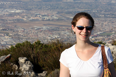 Emily enjoys the city - Cape Town, South Africa ... March 8, 2010 ... Photo by Rob Page III