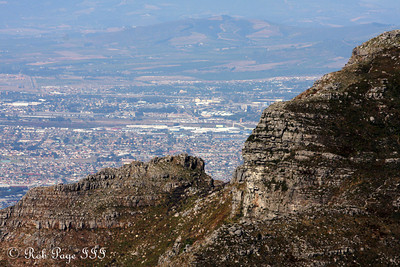 The Cape Flats beyond Table Mountain - Cape Town, South Africa ... March 8, 2010 ... Photo by Rob Page III