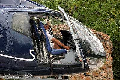 Getting ready to fly above Victoria Falls - Livingstone, Zambia ... March 18, 2010 ... Photo by Rob Page III