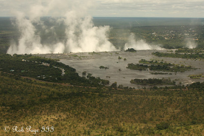 The Zambezi River flows over Victoria Falls - Livingstone, Zambia ... March 18, 2010 ... Photo by Rob Page III