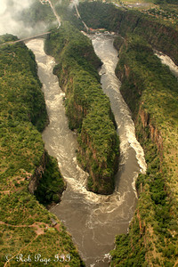 The downstream gorges - Livingstone, Zambia ... March 18, 2010 ... Photo by Rob Page III