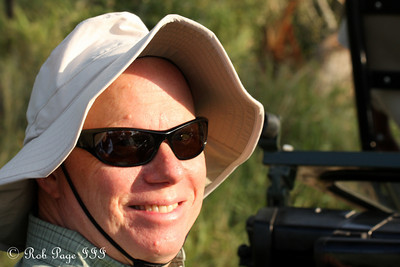 Bob enjoying the safari - Sabi Sabi, South Africa ... March 16, 2010 ... Photo by Rob Page III