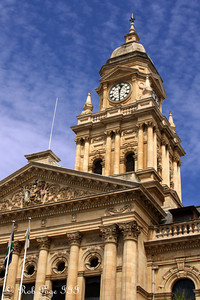 Cape Town City Hall which was built in 1905.   On February 11, 1990, only hours after his release from prison, Nelson Mandela made his first public speech after his release from the balcony of Cape Town City Hall. - Cape Town, South Africa ... March 8, 2010 ... Photo by Rob Page III
