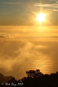 Sunset at Table Mountain - Cape Town, South Africa ... March 11, 2010 ... Photo by Rob Page III
