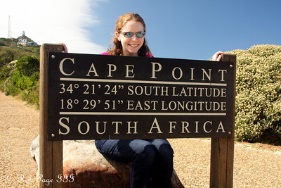 Emily at Cape Point - Cape Town, South Africa ... March 12, 2010 ... Photo by Rob Page III