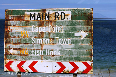 Along the Main Rd. - Cape Town, South Africa ... March 12, 2010 ... Photo by Rob Page III