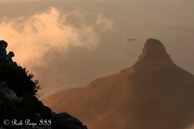 Lion's Head - Cape Town, South Africa ... March 11, 2010 ... Photo by Rob Page III