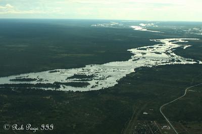 The Zambezi River - Livingstone, Zambia ... March 16, 2010 ... Photo by Rob Page III