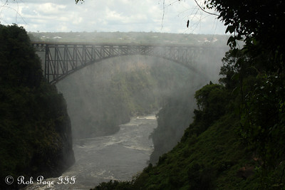The Victoria Falls Bridge - Livingstone, Zambia ... March 17, 2010 ... Photo by Rob Page III