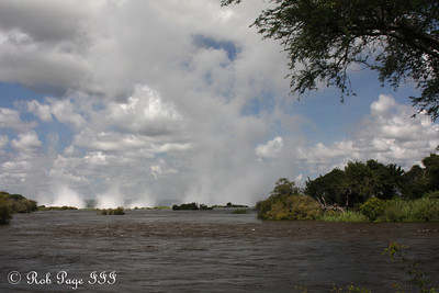 The Zambezi flows towards Victoria Falls - Livingstone, Zambia ... March 17, 2010 ... Photo by Rob Page III
