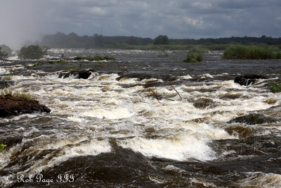 The Zambezi churns above Victoria Falls - Livingstone, Zambia ... March 17, 2010 ... Photo by Rob Page III