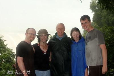 Jon, Jen, Bob, Emily, and Rob - Victoria Falls, Zimbabwe ... March 18, 2010