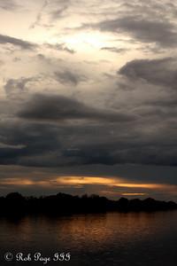 Sunset over the Zambezi River - Livingstone, Zambia ... March 18, 2010 ... Photo by Rob Page III