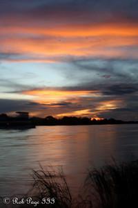 Sunset over the Zambezi River - Livingstone, Zambia ... March 16, 2010 ... Photo by Rob Page III