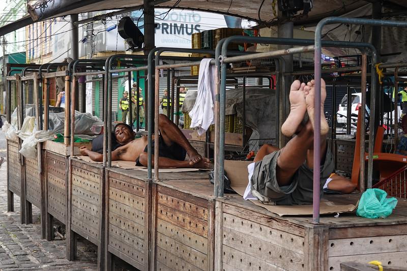 Ver-o-Peso Market on New Year's Day. Belen, Brazil.