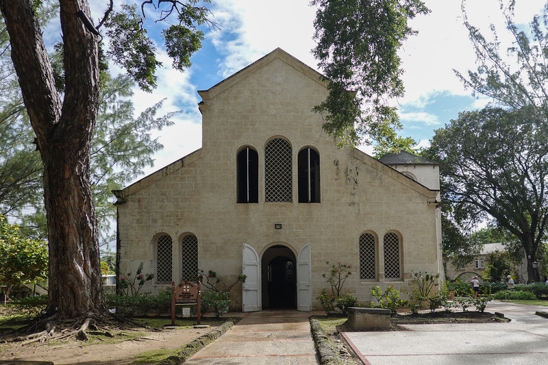 Saint James Parish Church, the oldest on Barbados.