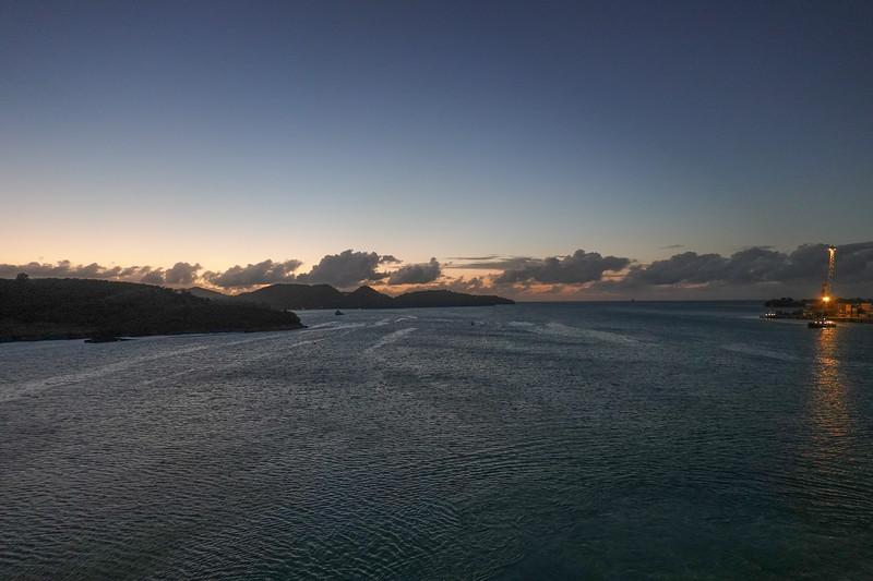 Sunset, St. John's, Antigua.