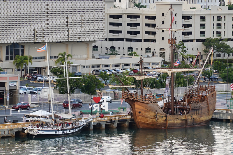 History in the Harbor, San Juan, PR.