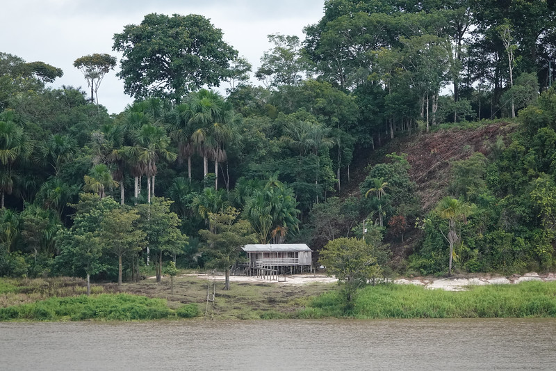 Life along the Amazon River outside Manaus, Brazil.
