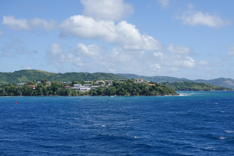 First look at Scarborough, Tobago.