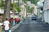 Streets of Castries, Saint Lucia.