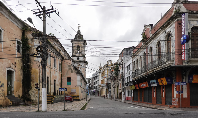 New Year's Day and the streets of Belen, Brazil.