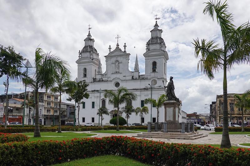Cathedral of Se in Belen, Brazil.