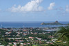 The harbor in Castries, Saint Lucia.