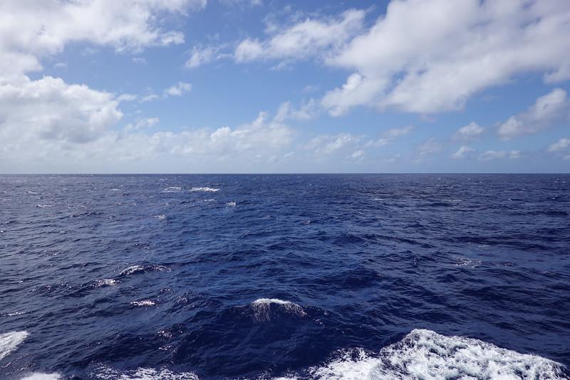 A peaceful Thursday at sea.