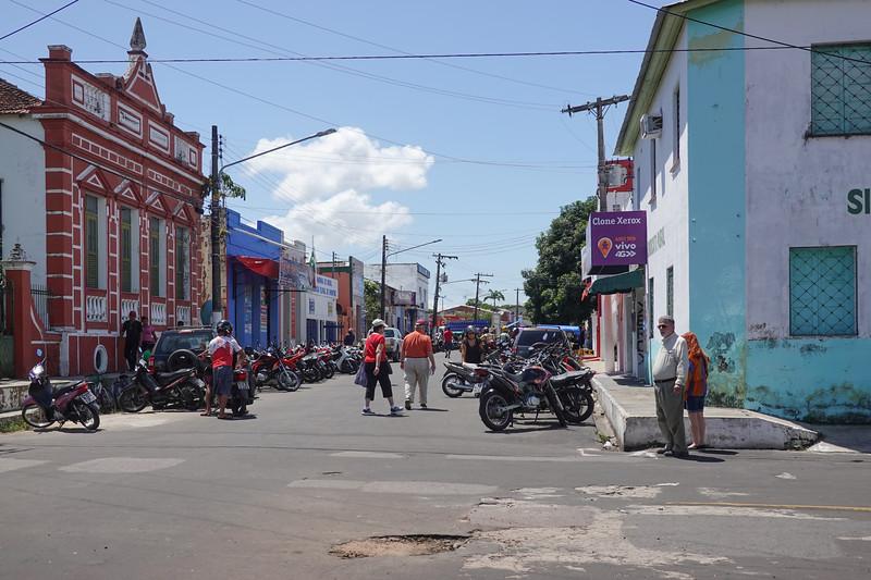 Streets of Parintins, Brazil.