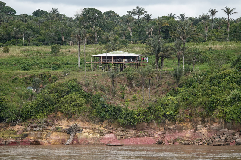 Life along the Amazon River outside Manaus, Brazil.