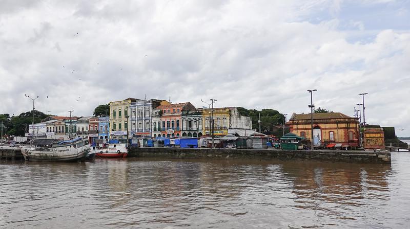 The Belen Brazil waterfront area.