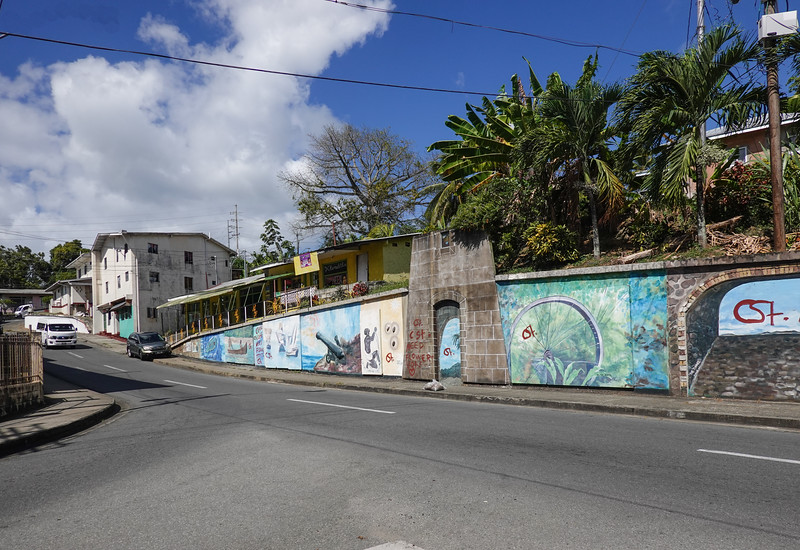 Streets of Tobago.