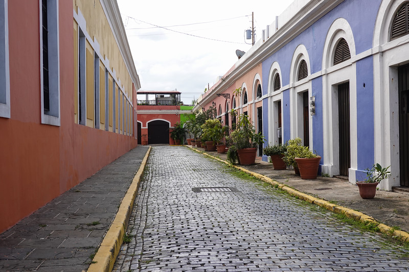 Streets of old San Juan, PR.
