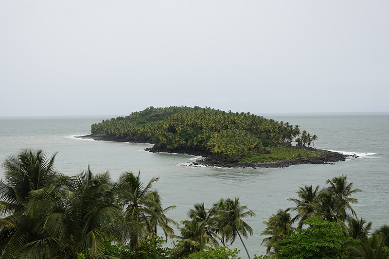Ile du Diable (Devil's Island)  which housed the worst prisoners and who were denied talking. The channel between the islands is populated by sharks which were fed the prisoners who died in captivity.