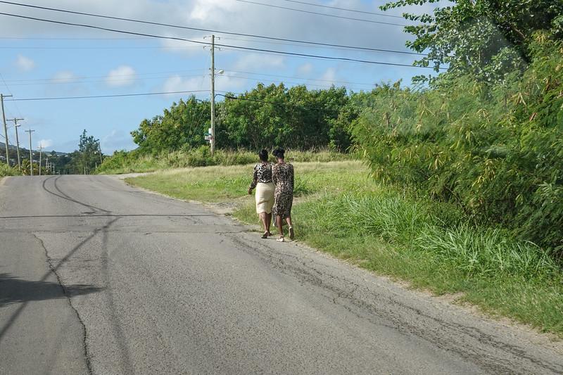 Street's of St. John's, Antigua.