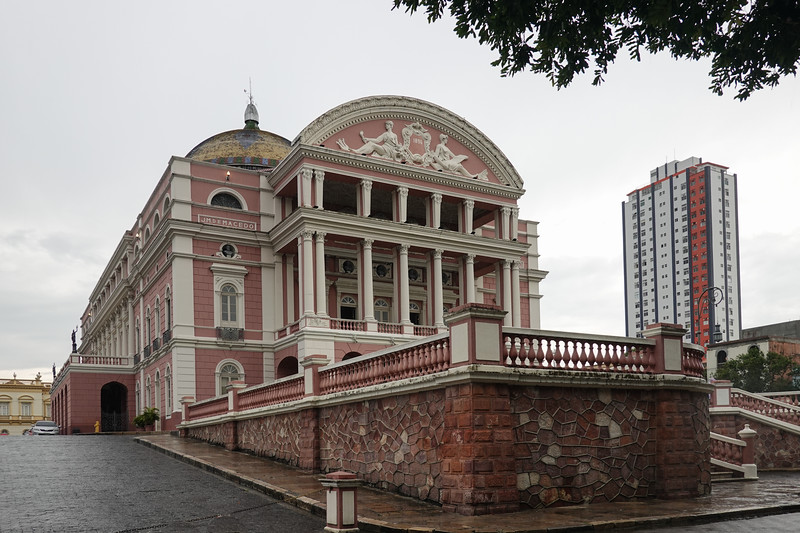 The Opera House built by Rubber Barons in Manaus, Brazil.