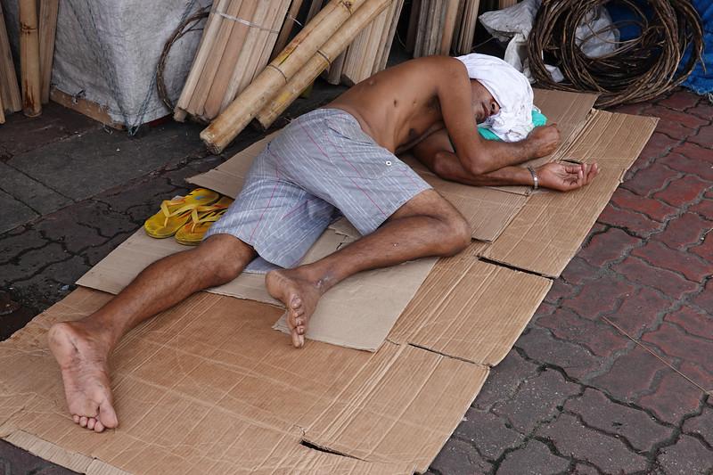 New Year's morning hangovers abound. Ver-o-Peso Market, Belen, Brazil.
