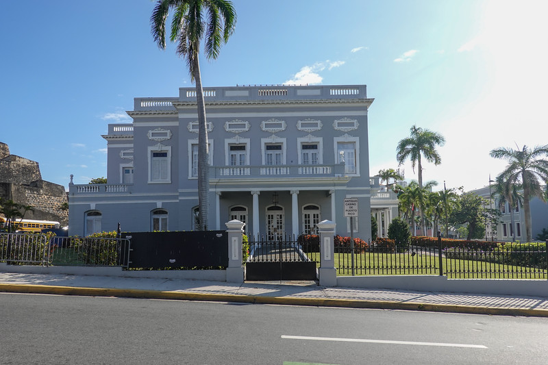 The Antiguo Casino in Old San Juan, PR.