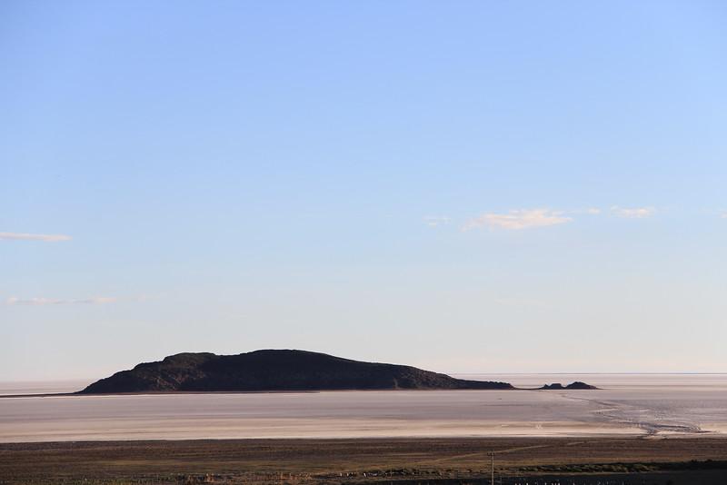 La Isla Rodeada por La Sal