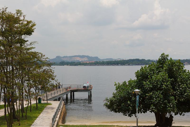 Malaysia from the Singapore Coast
