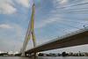 Suspension bridge across the Chao Phyara River