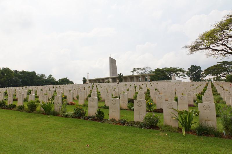 Kranji War Memorial - Singapore