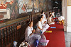 Praying at the Grand Palace - Bangkok