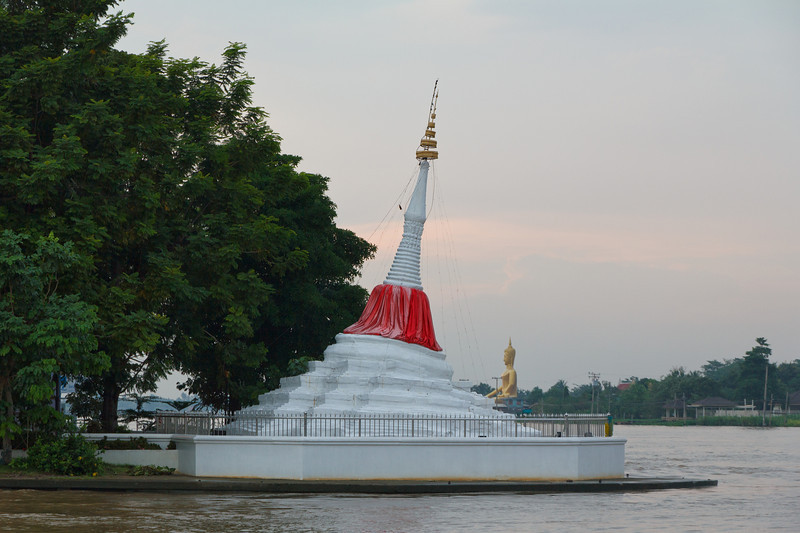 Leaning Spire on the Chao Phyara River