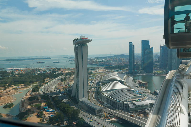 Singapore from the Singapore Flyer
