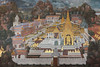 Wall Mural at the Grand Palace - Bangkok