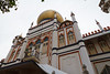 Masjid Malabar Mosque in the Kampong Glam Historic District of Singapore