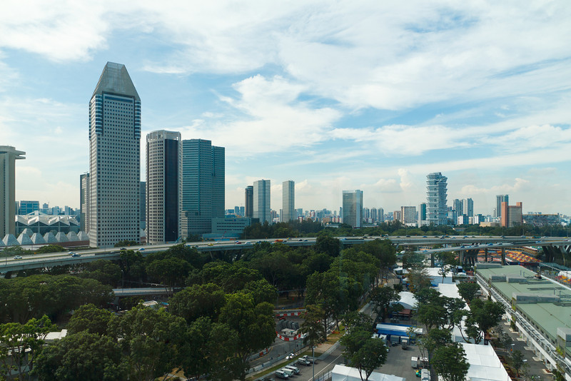 From the Singapore Flyer