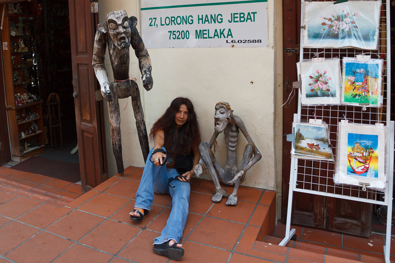 Three scary creatures in Malacca